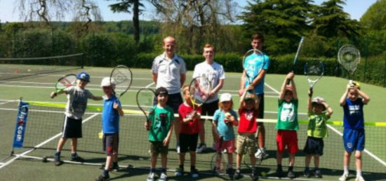 GSTC junior players and coaching team